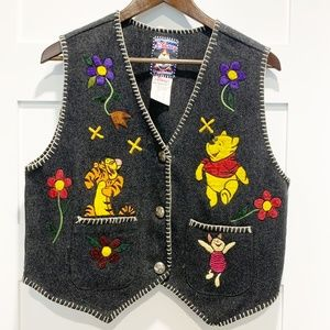 Disney by Jou Jou VTG Wool Blend Vest